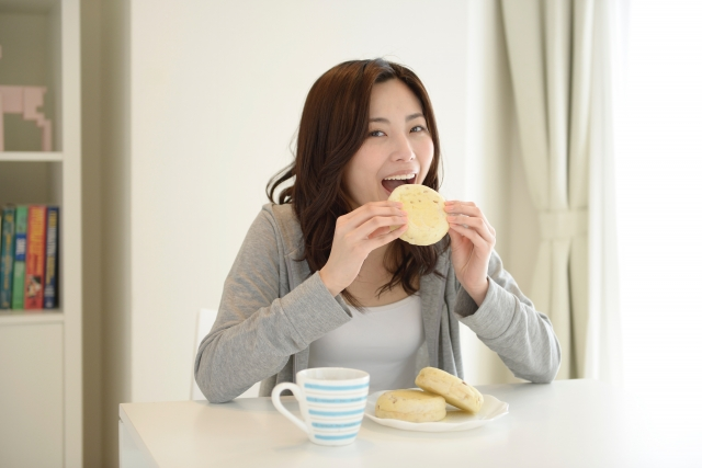 辛い症状が解消すると食事も楽しめます